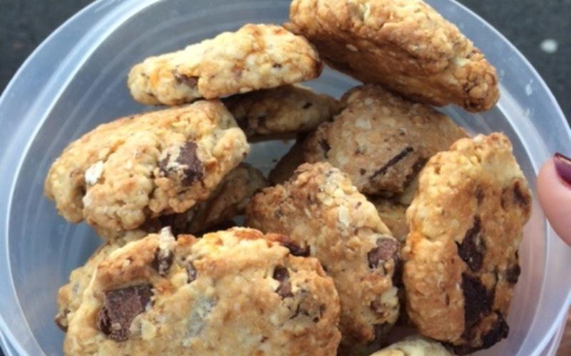 Cookie abricots-choco