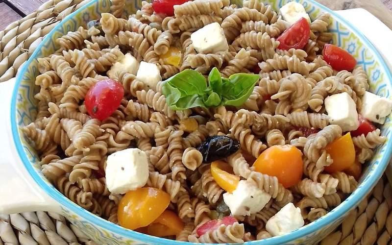 Salade de pâtes au petit épeautre