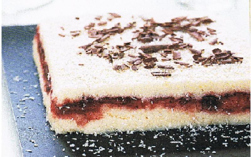 Gâteau coco et chocolat blanc (sans cuisson)