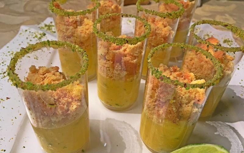 La tarte au citron en verrines