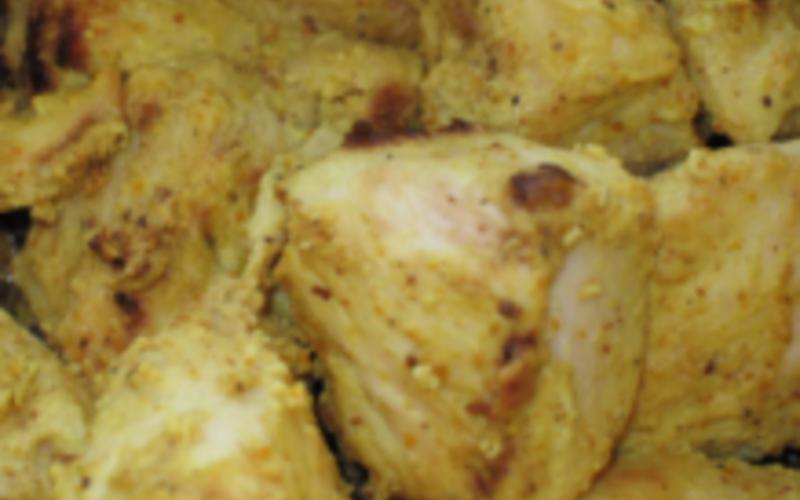 Escalopes au citron et curry