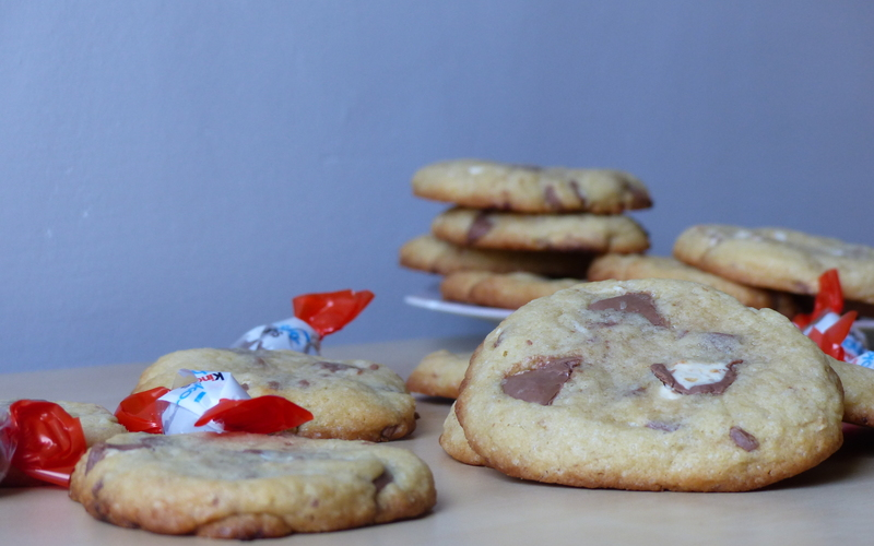 Cookies aux schoko-bons