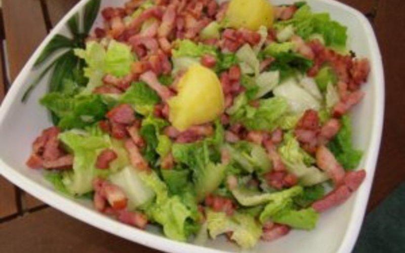 recette salade chaude quot cagnarde quot de mon ch 233 ri 233 conomique gt cuisine 201 tudiant
