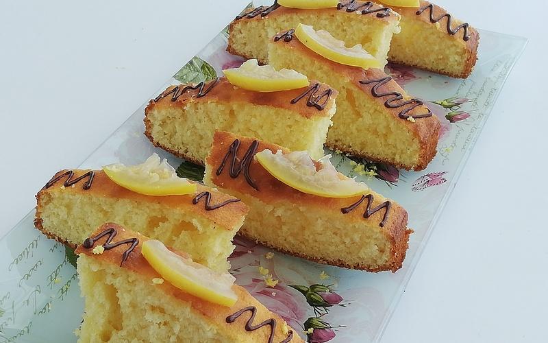 Gâteau à la Crème et Zeste de Citron