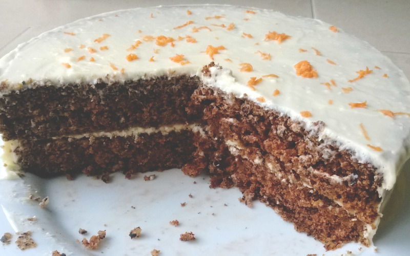 Carrot Cake ! Pas sec et léger !