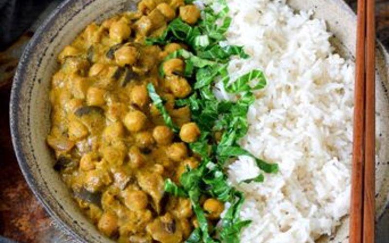 Curry revisité aux pois chiches