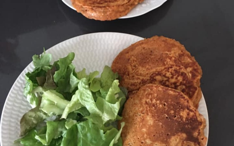Pancakes au thon