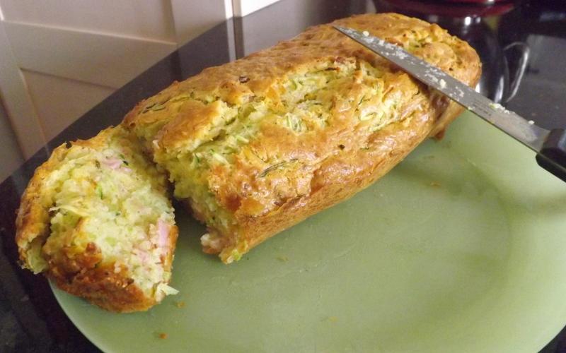 Cake Jambon Courgette Chevre