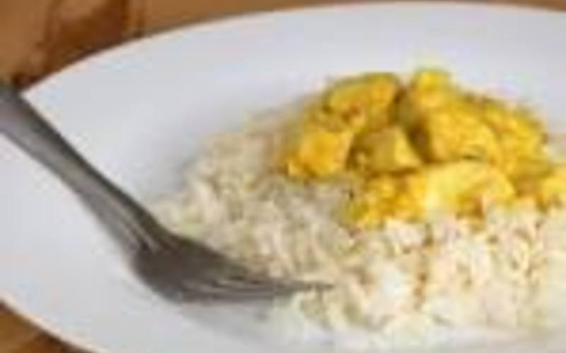 Poulet au curry (express)