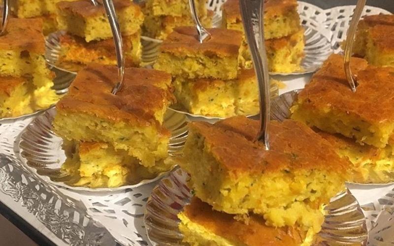 Cake salé au thon et aux légumes