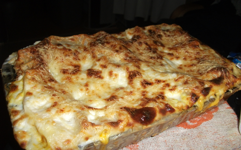 Mes succulentes lasagnes