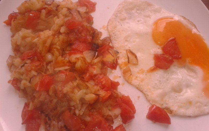 Rösti aux tomates