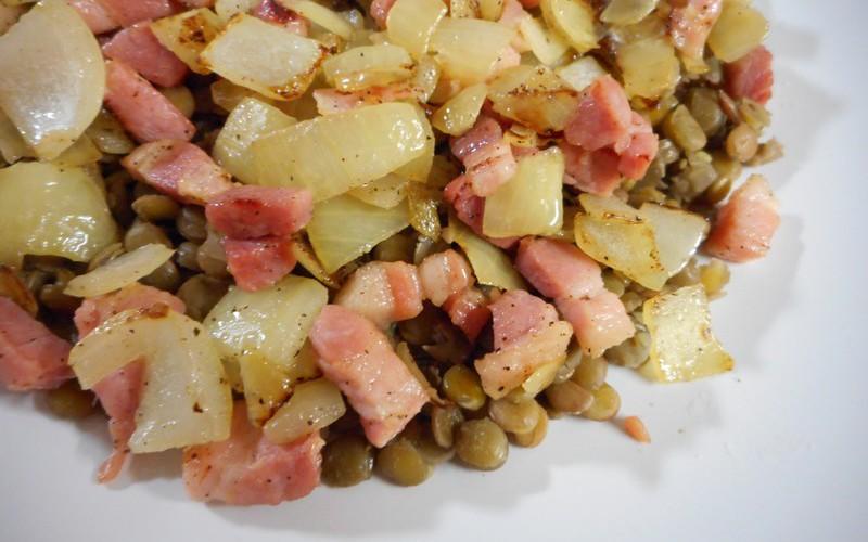 "Lentilles / version ""gourmande"""