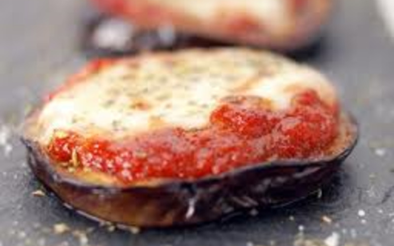 Aubergine gratinée tomate mozza