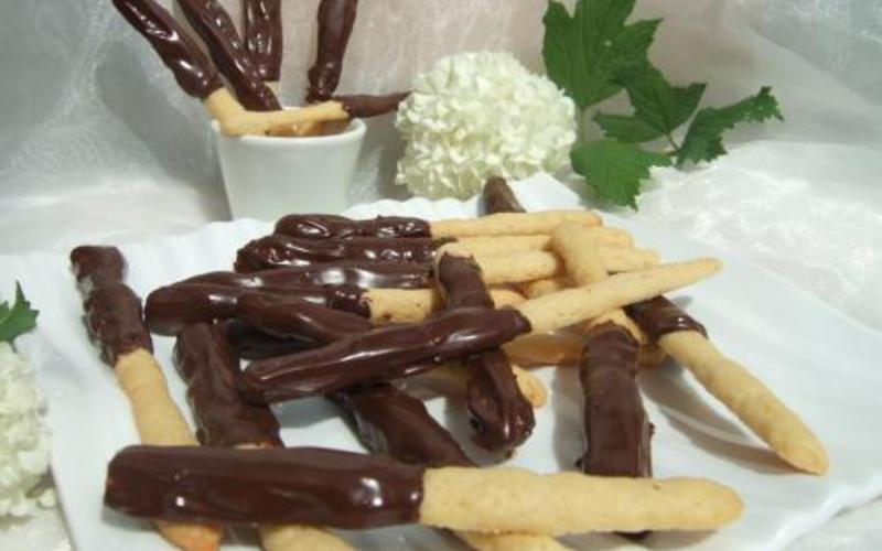 Bâtonnets au chocolat