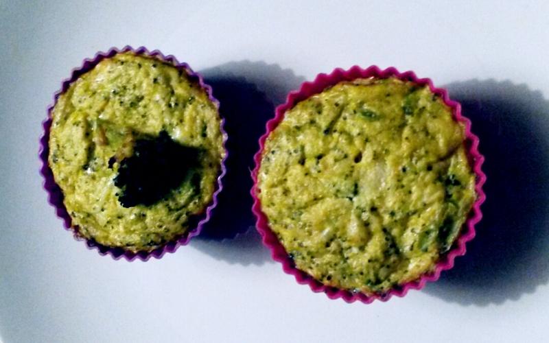 Flan brocolis et chou-fleurs