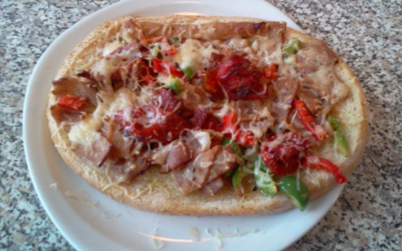 Bruschetta Kebab