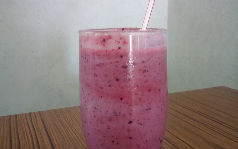 Milkshake Fruits Rouges