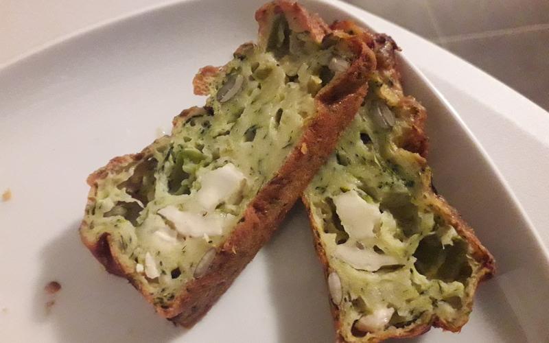 Recette cake courgette ch vre conomique cuisine tudiant - Cuisine economique 1001 recettes ...