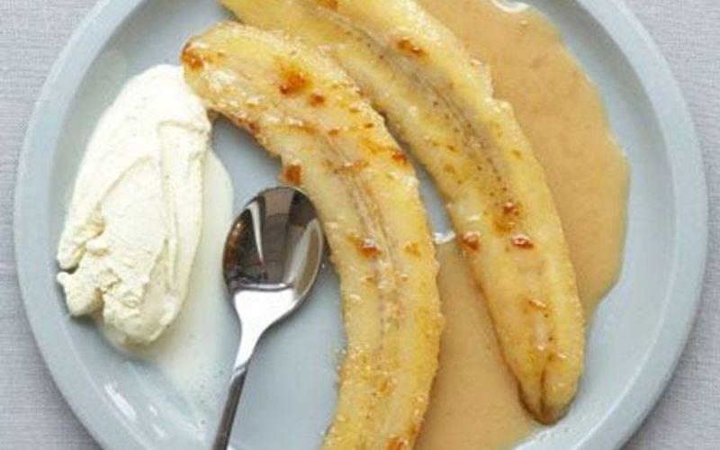 Bananes flambées au rhum ( recette cubaine)