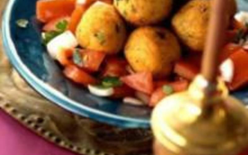 Boulettes de Boulgour et pomme de terre