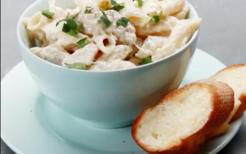 One-Pot Pasta: Poulet & Crème