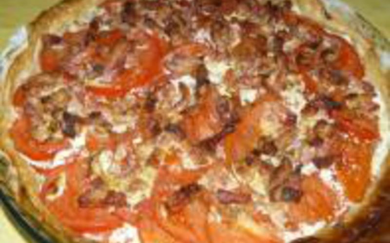 Tartelettes à la tomate et au boursin