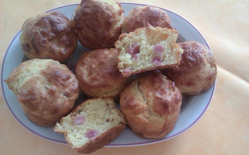 Muffins jambon comté