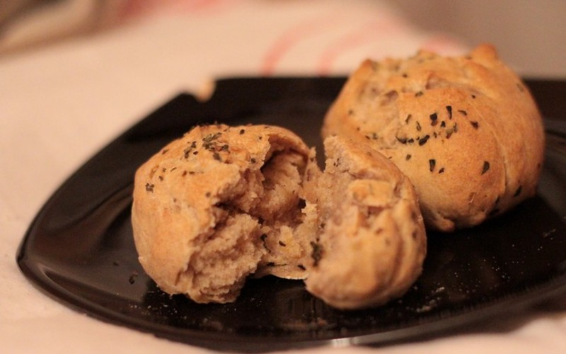 Petits pains sucrés ou salés (vegan)