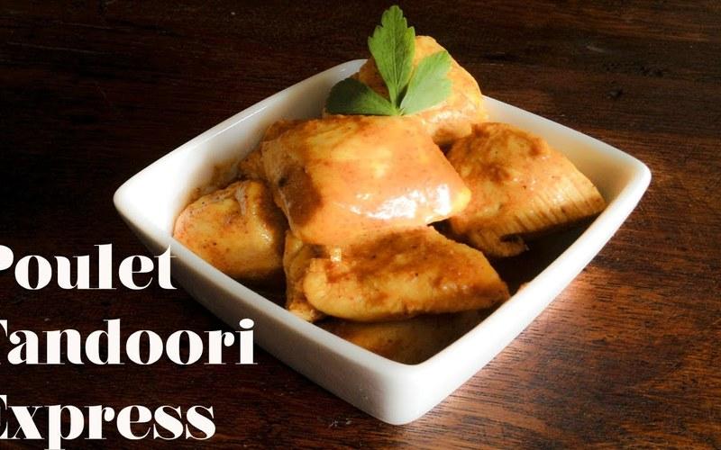 Poulet tandoori express