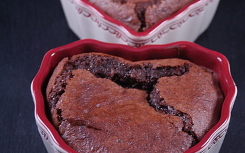 Fondant au chocolat (sans lactose)