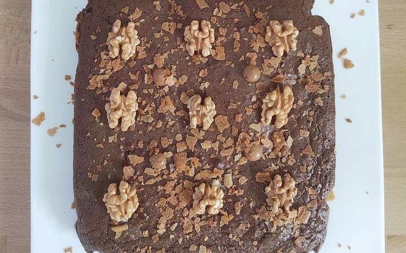 Brownies insert crème de noisettes