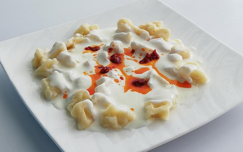 Recette de manti (ravioli turc )
