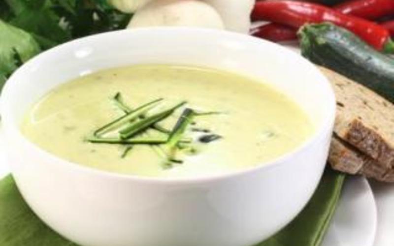 Soupe Poireaux-Boursin