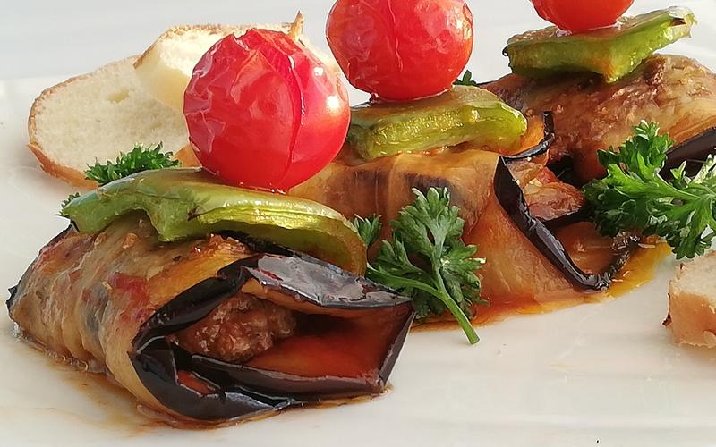 Köfte aubergines à la turque