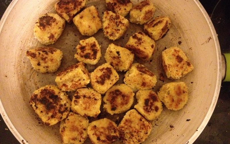 Croquettes au thon