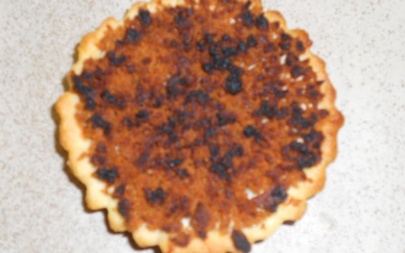 Tartelettes à la pomme avec crumble de speculoos