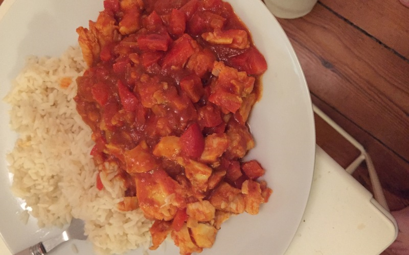 Cabillaud sauce tomate