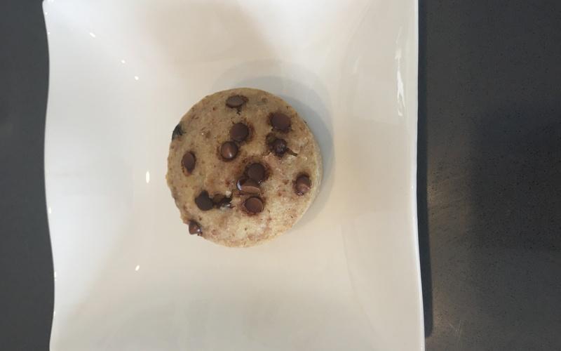 Muffin aux flocons de sarrasin et  choc