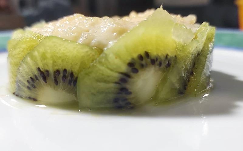Riz Condé & kiwi