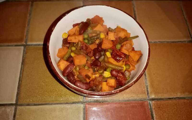 Chili de patate douce