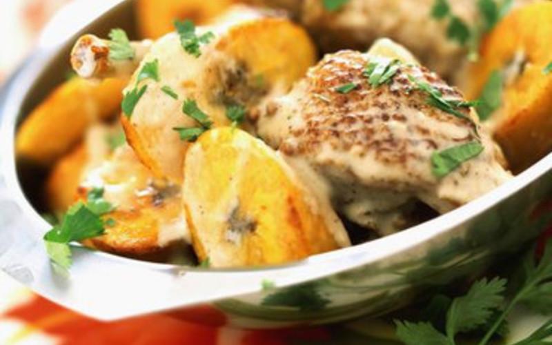Recette poulet aux bananes plantains conomique cuisine for Cuisine etudiant