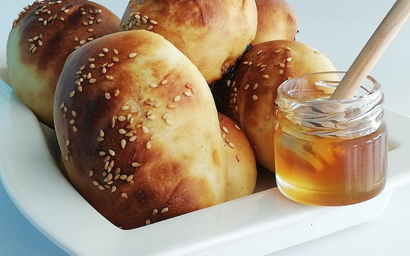 Petits pains au lait et au miel