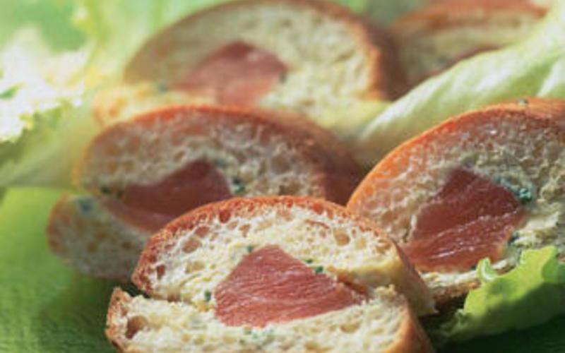 hot-dog de saumon