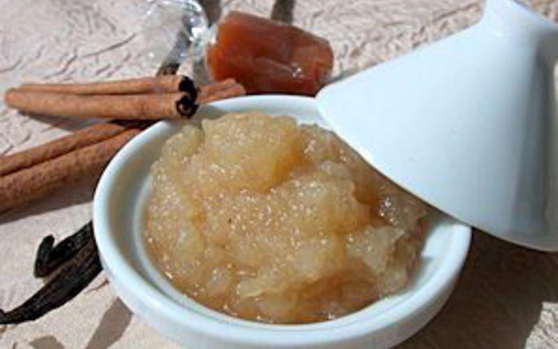 Compote de pommes caramélisée