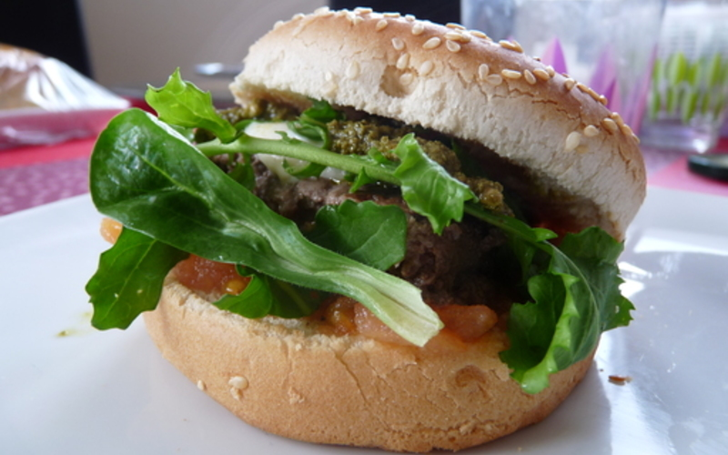 Burger  à ma façon(100%  made in Italie)