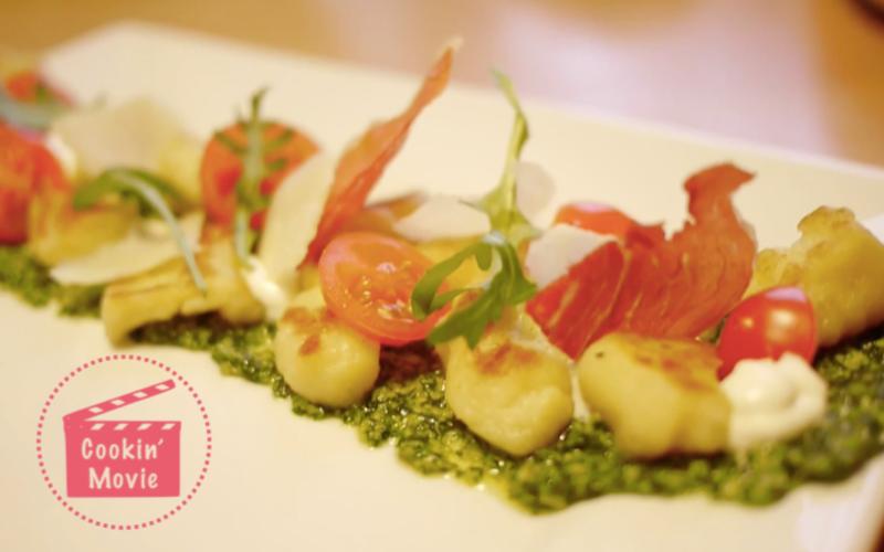 Gnocchis Roquette Chantilly Parmesan