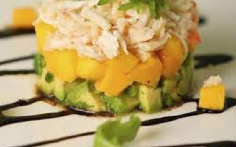 salade crabe et mangue