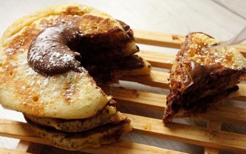 Pancake Cake au Nutella !