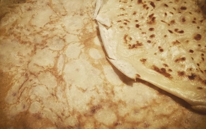 Recette cr pes rapides et l g res pas ch re et rapide cuisine tudiant - Recette crepe fine et legere ...